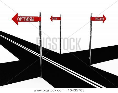Pointer Optimism, Pessimism, Realism On The Road