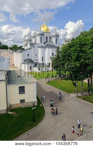 St. Sophia Cathedral From Height