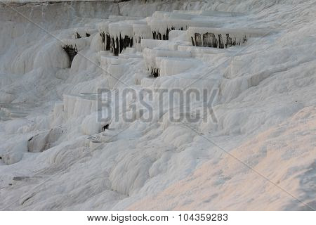 Pamukkale health resort and nature reserve in Turkey