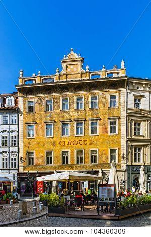 Cityscape of Prague