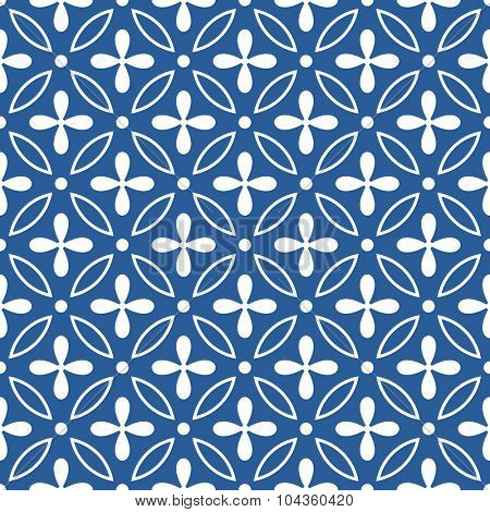 vector seamless ornamental pattern