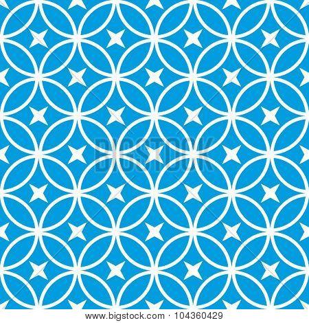seamless geometric ornamental pattern vector illustration
