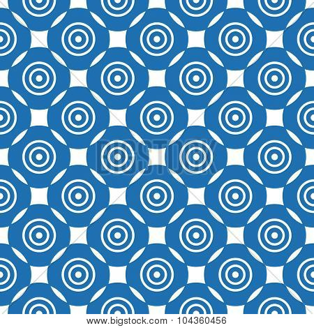 seamless ornamental geometric pattern vector illustration
