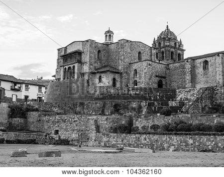 Incan temple Qoricancha in Cusco