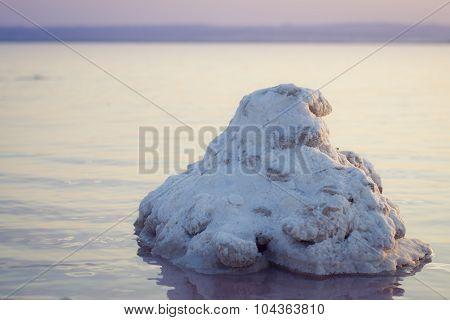 salt lakes of Torrevieja, Valencia, Spain