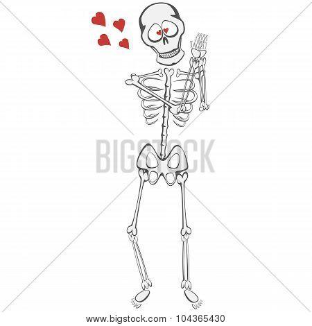 Skeleton Buddy in Love