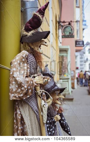 Toys of the old town in Tallinn, Estonia