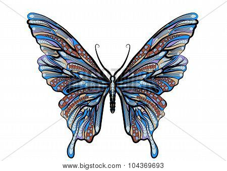 Ethnic Butterfly