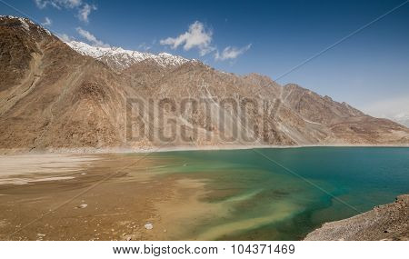 Lake in Skardu Valley, Pakistan