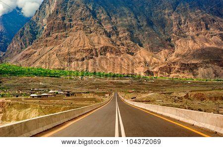 Karakorum Highway in Pakistan