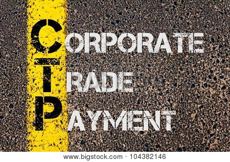 Business Acronym Ctp As Corporate Trade Payment