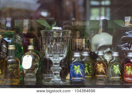Absinthe store, Prague