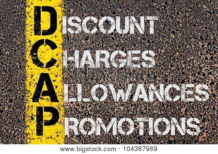Business Acronym Dcap As  Discount Charges Allowances Promotions