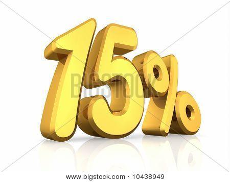 Gold Fifteen Percent
