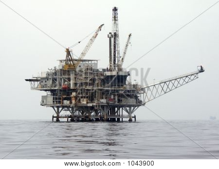 Offshore Oil Drilling Rig