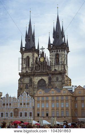 Tyn Cathedral of the Virgin Mary