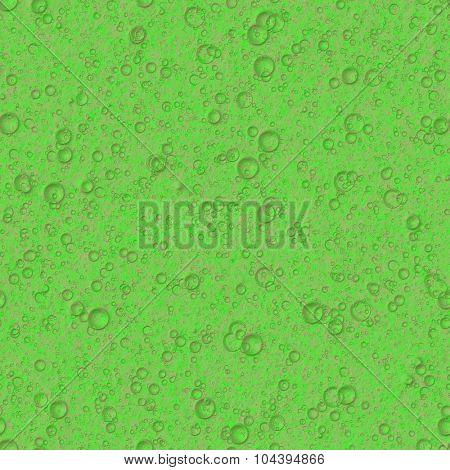 Green  bacteria  seamless texture
