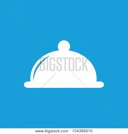 Cloche icon, white