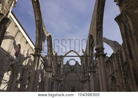 Carmo Convent In Lisbon