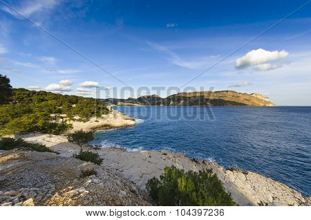 Cap Canaille And Cassis City Coast, France