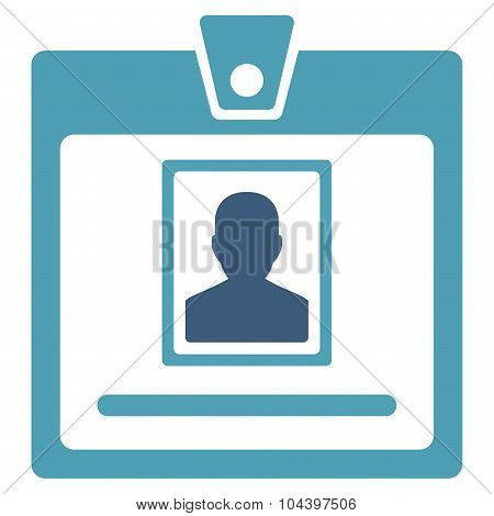 Person Badge Icon