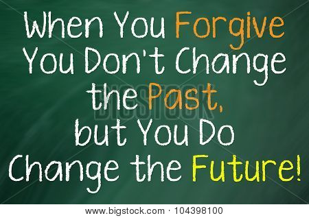 When You Forgive