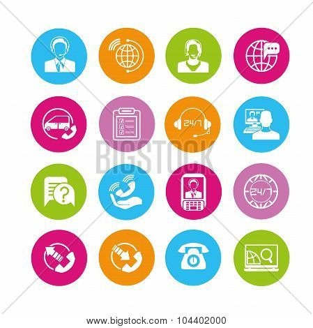 call center icons