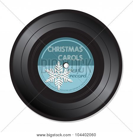 Christmas Carols vinyl record
