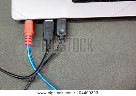 Usb Cable Connected