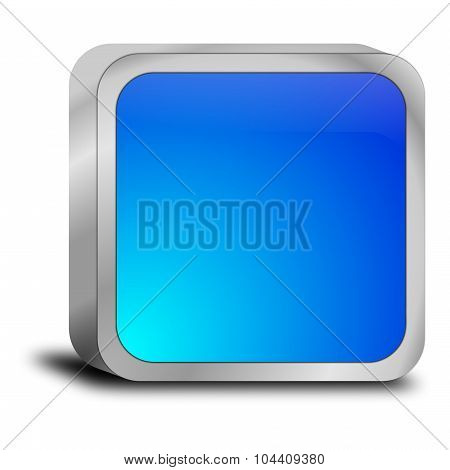 blue blank Button