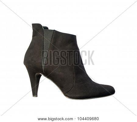 Women's autumn ankle boots black