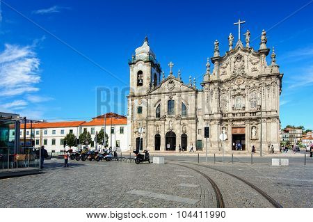 Churches in Porto city, Portugal
