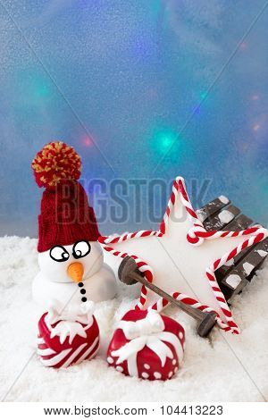 Snowman With A Star