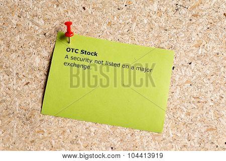Otc Stock