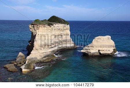 coastal landscape in Italy