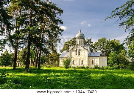 Ancient church of Nikita in Veliky Novgorod, Russia
