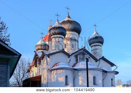 Church Of St.theodore Stratilates On The Shirkov Street