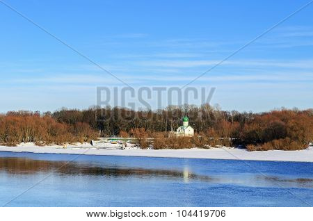 Church Of St. John The Evangelist On Vitka River