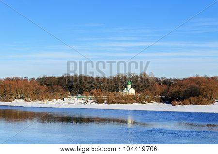 Church Of St. John The Evangelist On Vitka River