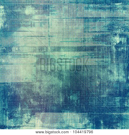 Beautiful antique vintage background. With different color patterns: blue; gray; cyan