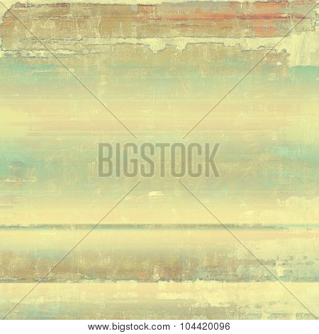Old abstract grunge background for creative designed textures. With different color patterns: yellow (beige); brown; gray; cyan