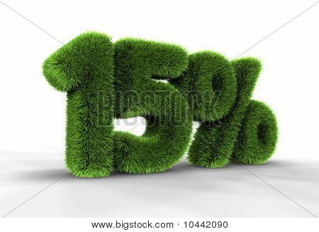 Grass Fifteen Percent