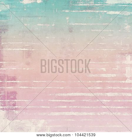 Vintage texture. With different color patterns: blue; pink; cyan