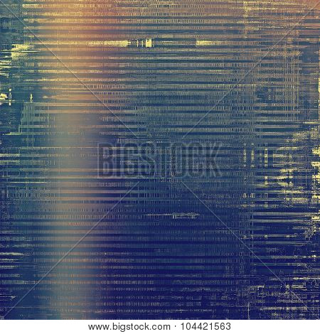 Grunge colorful background. With different color patterns: yellow (beige); brown; blue; cyan