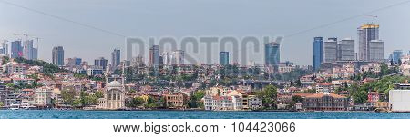 Istanbul, Turkey May 14, 2015: Panorama Of Istanbul