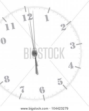 Midnight Clockface