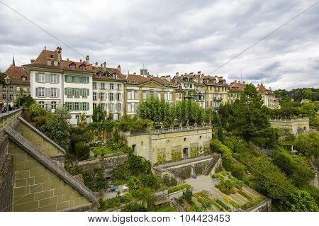 Cityscape Of The City Of Bern, Switzerland