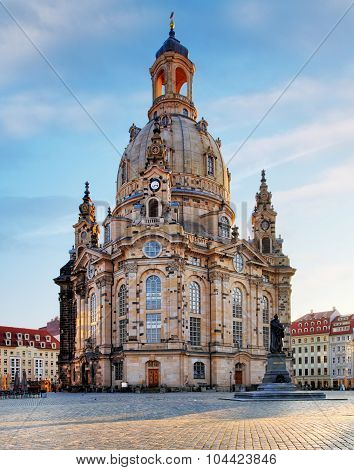 Dresden, Frauenkirche Church - Germany