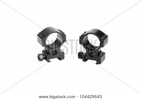 Two Ring For Mounting A Riflescope
