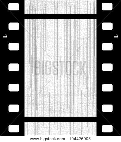 Old Blank Film Frame